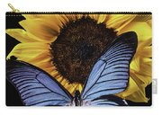 Gorgeous Blue Butterfly Carry-all Pouch