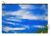 Gorgeous Blue Sky With Clouds Carry-all Pouch