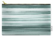 Gorgeous Grays Abstract Interior Decor II Carry-all Pouch