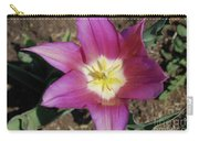 Gorgeous Light Purple Tulip With Yellow Stamen Carry-all Pouch