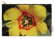 Gorgeous Look At The Center Of A Yellow Tulip Carry-all Pouch