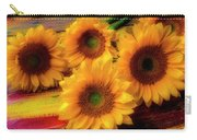 Gorgeous Lovely Sunflowers Carry-all Pouch