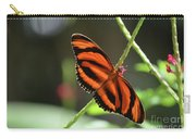 Gorgeous Orange And Black Oak Tiger Butterfly Carry-all Pouch