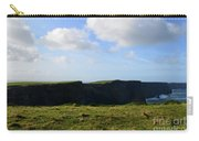 Gorgeous Seascape Along The Cliffs Of Moher In Ireland Carry-all Pouch