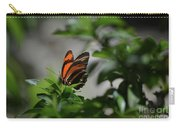 Gorgeous View Of An Oak Tiger Butterfly In The Spring Carry-all Pouch