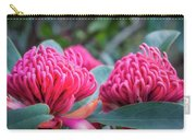 Gorgeous Waratah -floral Emblem Of New South Wales Carry-all Pouch