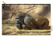 Gorilla Musings Carry-all Pouch