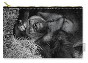 Gorilla Pose Carry-all Pouch