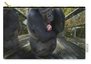 Gorilla With Lollipop Carry-all Pouch