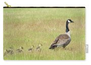 Goslings Following Mama Carry-all Pouch