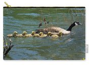 Goslings In A Row Carry-all Pouch