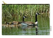 Goslings In Tow Carry-all Pouch