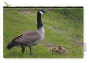 Goslings With Mother Goose Carry-all Pouch