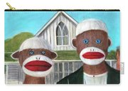 Gothic American Sock Monkeys Carry-all Pouch