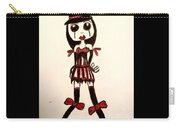 Gothic Burlesque Girl Carry-all Pouch