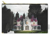 Gothic Country House Detail From Night Bridge Carry-all Pouch