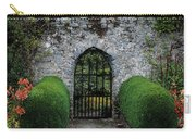 Gothic Entrance Gate, Walled Garden Carry-all Pouch