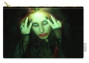 Gothic Female Model Carry-all Pouch