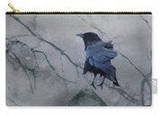 Gothic Gray Wash  Carry-all Pouch