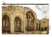 Gothic Temple Ruins - San Domingos - Vintage Version Carry-all Pouch