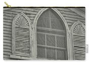 Nantucket Gothic Window  Carry-all Pouch