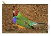 Gouldian Finch Carry-all Pouch