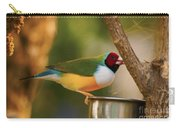 Gouldian Finche Carry-all Pouch