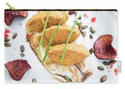 Gourmet Fish Fillet With Chickpea Curry Puree Meal Carry-all Pouch
