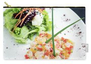 Gourmet Raw Tuna Tartare Ceviche With Mango Lime And Chilli Carry-all Pouch