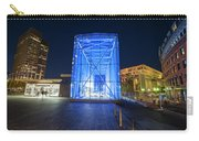 Goverment Center Boston Ma In Blue City Hall Carry-all Pouch
