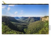 Govetts Leap Lookout Panorama, Australia Carry-all Pouch