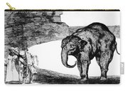 Goya: Elephant, C1820 Carry-all Pouch