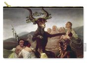 Goya: Witches Sabbath Carry-all Pouch