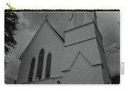 Grace In Black And White Carry-all Pouch