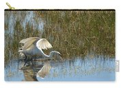 Graceful Great Egret Carry-all Pouch