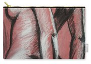 Graceful Pink - Nudes Gallery Carry-all Pouch by Carmen Tyrrell