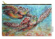 Sea Turtle Buddies Carry-all Pouch