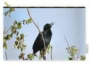 Grackle Cackle Carry-all Pouch