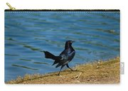 Grackle On The Move Carry-all Pouch