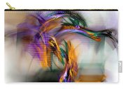 Graffiti - Fractal Art Carry-all Pouch by NirvanaBlues