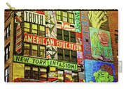 Graffitti On New York City Building Carry-all Pouch