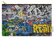 Grafitti On The U2 Wall, Windmill Lane Carry-all Pouch