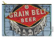 Grain Belt Beer Sign Carry-all Pouch
