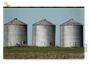 Grain Bins In A Row Carry-all Pouch