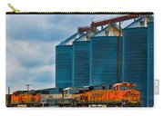 Grain Silos And Bnsf Train Carry-all Pouch