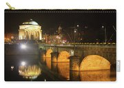 Gran Madre Church By Night In Turin, Italy Carry-all Pouch