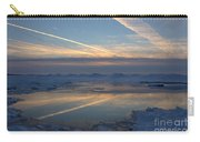 Grand Bend Winter Reflections 2 Carry-all Pouch