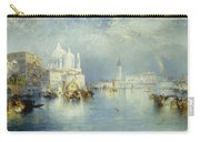 Grand Canal Venice Carry-all Pouch by Thomas Moran