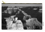 Grand Canyon Black And White Carry-all Pouch