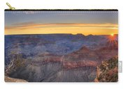 Shimmering Warmth In Panoramic Carry-all Pouch